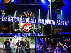 Oct. 28, 2017- Blue Fox - Winchester, VA - Super Bob | Hate Grenade | Dixiefilth - Halloween Party