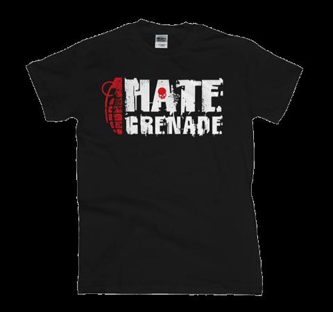 Hate Grenade - Red Skull T-Shirt