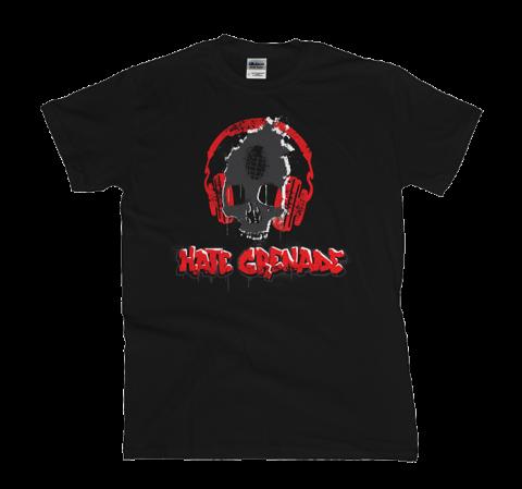 Hate Grenade - Skullphones T-Shirt