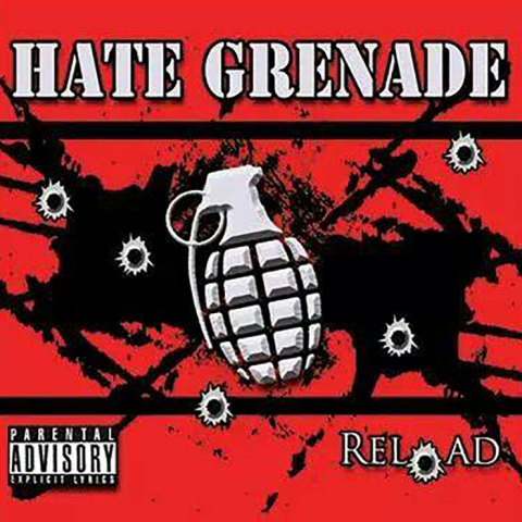 """Hate Grenade - RELOAD EP - Recorded February 2014 - Today we celebrate the 5 year anniversary w/ the release of our single, """"Critical."""""""